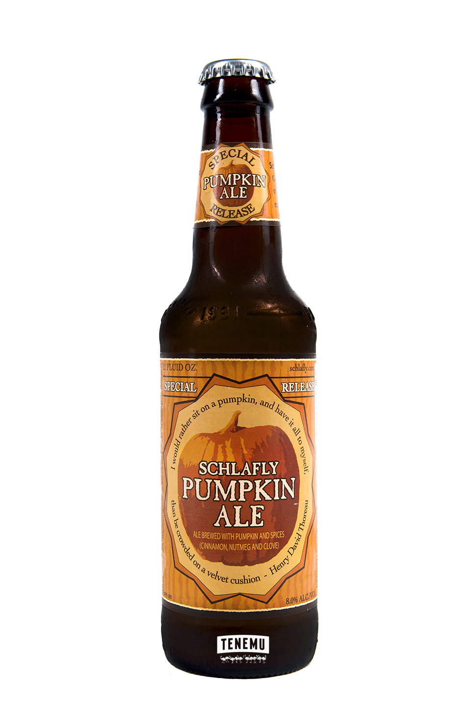 Schlafly Pumpkin Ale Bottle