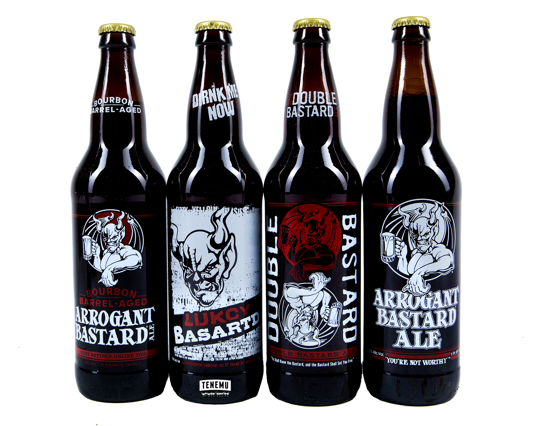 Image result for arrogant bastard ale