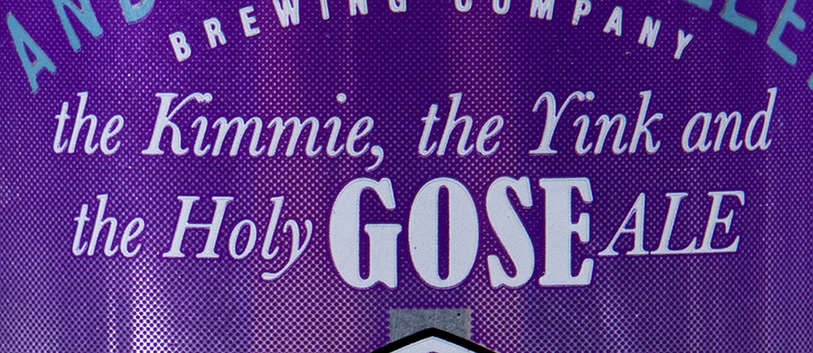 Anderson Valley The Kimmie, The Yink and The Holy Gose feature