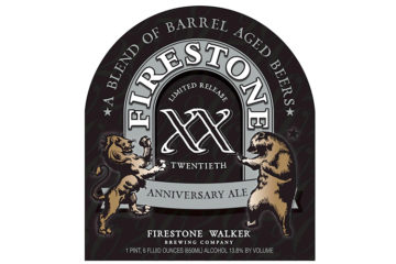 Firestone Walker XX Anniversary Ale 22-Ounce Bottle Label
