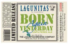 Laguintas Born Again Yesterday 12-Ounce Bottle Feature