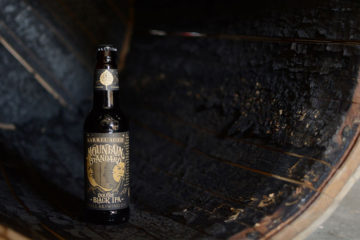 Odell Barrel-Aged Mountain Standard Black IPA 12-Ounce Bottle Feature