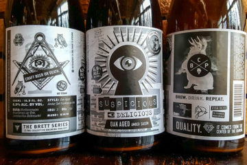The Collective Brewing Project Suspisious Delicious Bottles