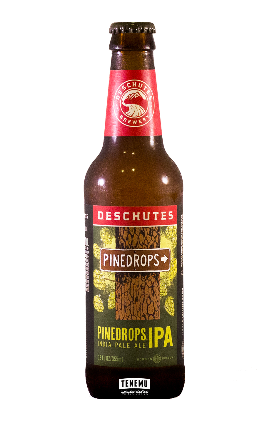 Deschutes Pinedrops IPA bottle